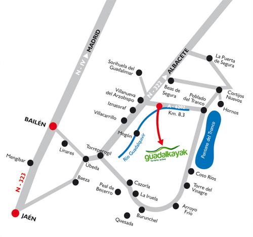 mapa_guadalkayak